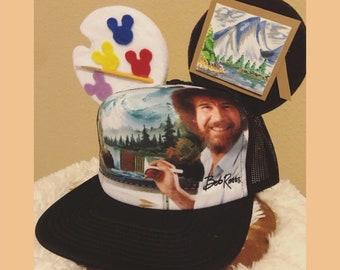 7e5063bc119ee Bob Ross Mickey Ear Hat