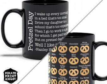 Pretzel Day Mug // The Office Quotes // Stanley Hudson