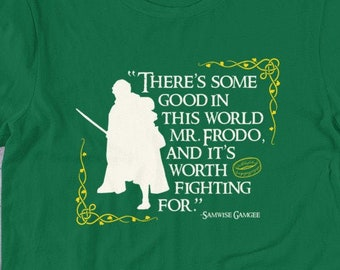 Samwise GamTEE & Tank Top // Lord of the Rings // Samwise Gamgee and Frodo Baggins // LOTR // Tolkien