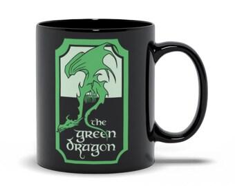 The Green Dragon Mug // Lord Of The Rings // LOTR // Tolkien // Gandalf // Frodo Baggins // Samwise Gamgee