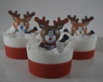 Reindeer Soap - Single Bar
