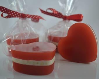 Oatmeal Heart Soap - Single Bar