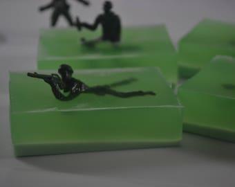 Army Man Hand Soap - Single Bar