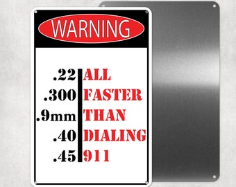 WARNING Prostitution Drug Area Sign PHOTO Home Decor Funny Gift Man Cave Pic