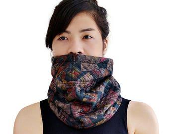 Scarf shawl collar wool Jersey (M87)