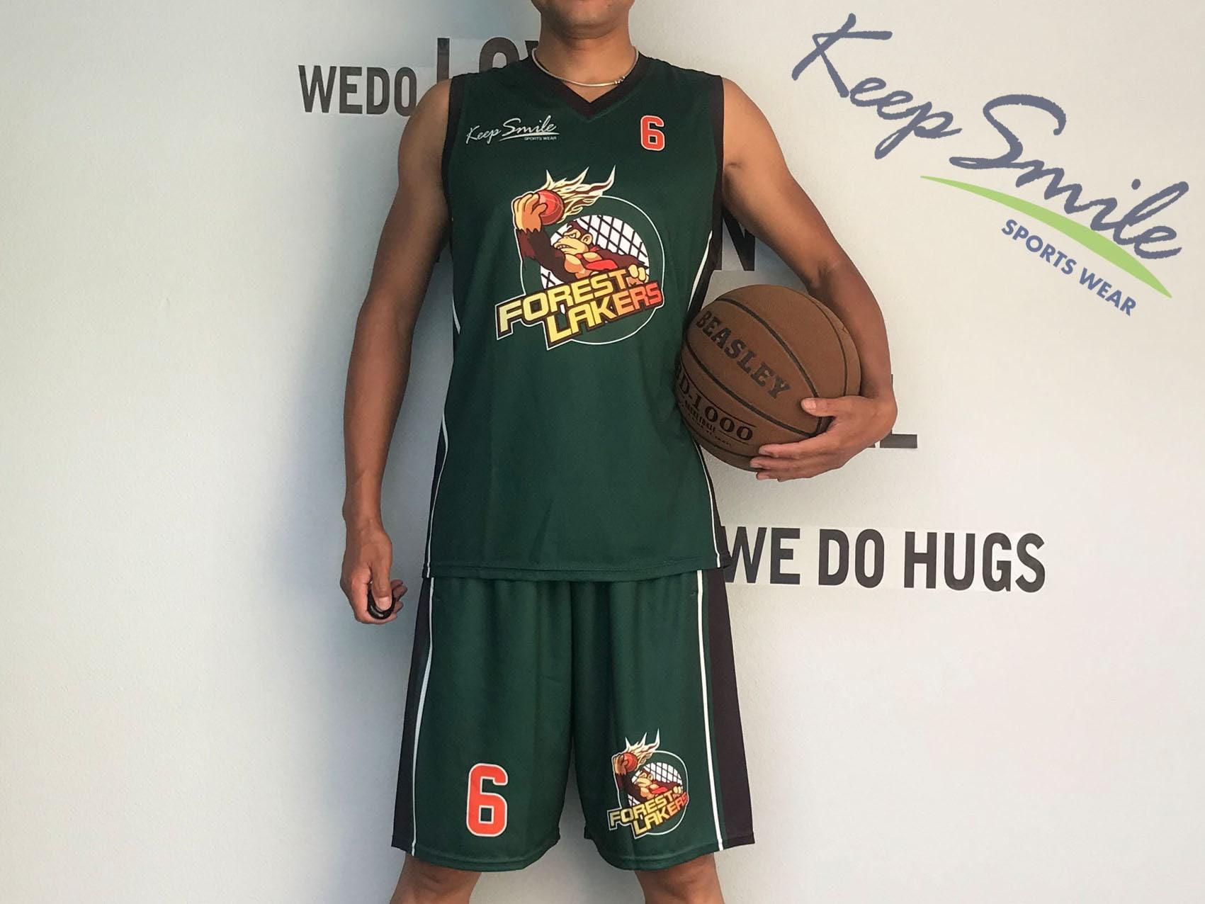 85ef56f6b Personalized Full Sublimated Custom Basketball Uniform Set