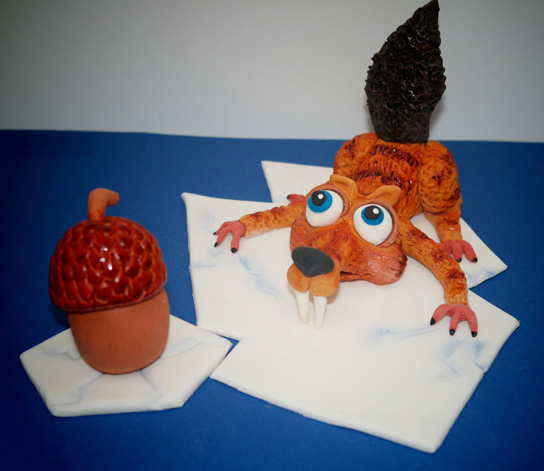 Scrat Cake Topper Scrat Birthday Scrat Birthday Cake