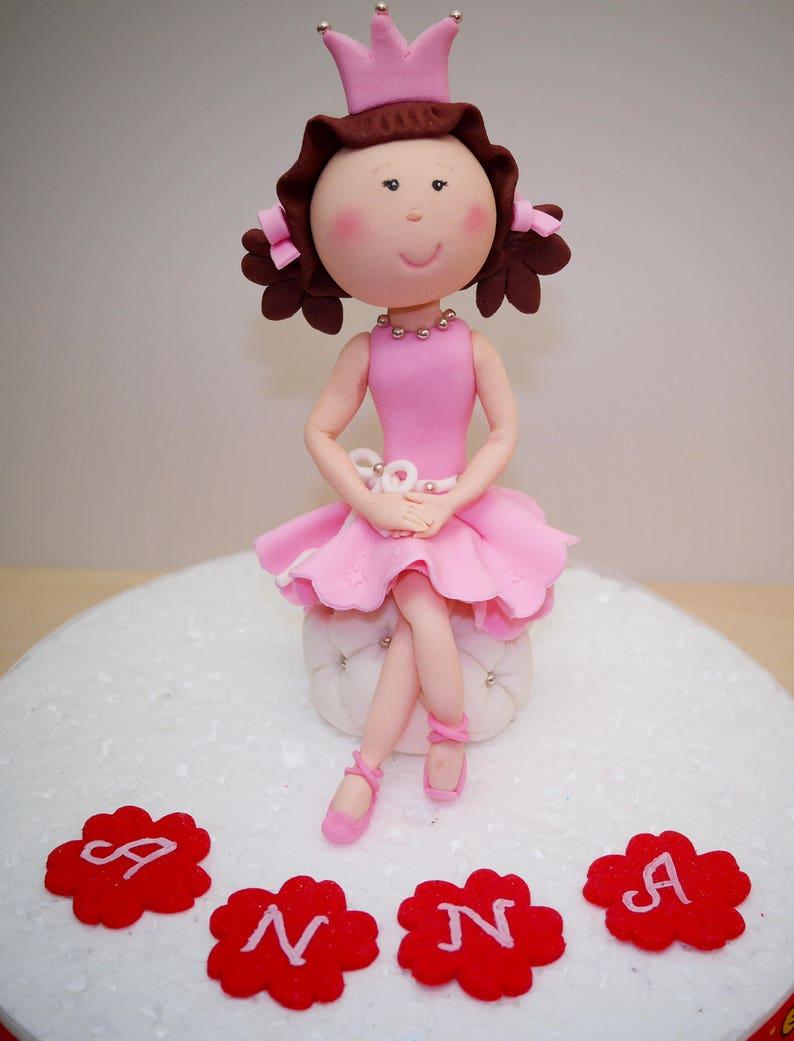 Princess Cake Topper Girl