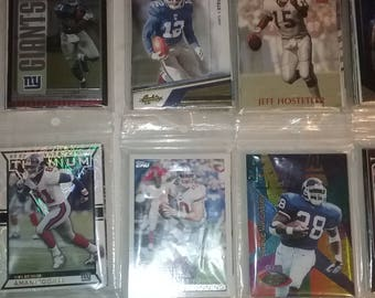 New York Giants Pack of 10 Cards--Series 1