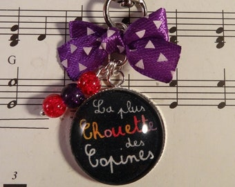 Keyring / bag charm for the coolest friends girlfriends friendship