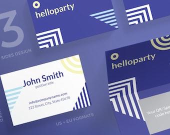 Modle De Carte Visite Personnalis Dappel Marketing Kit Photoshop Illustrator Psd Modifiable Bricolage Cartes