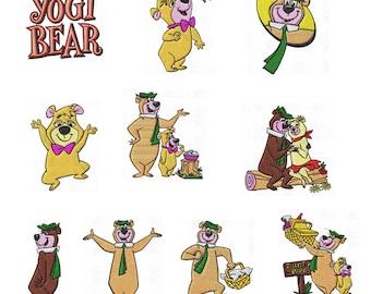 Yogi Bear Etsy