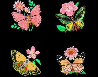 150,000 different desgins set embroidery machine patterns designs in .pes & .hus format on dvds free