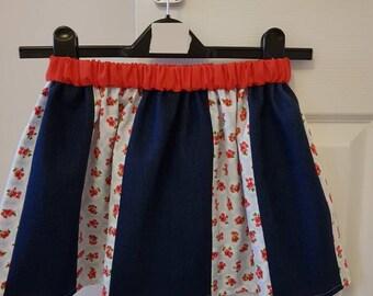 Handmade girls skirts