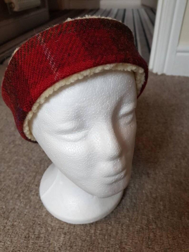 Harris Tweed Fur lined Headband  929af8aea1d