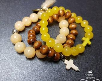 Bracelets, Beaded Bracelets, Stretch Bracelets, Bohemian Bracelets, Bohemian Fashion, Fashion Jewelry, Stack Bracelet Set, Charm Bracelets