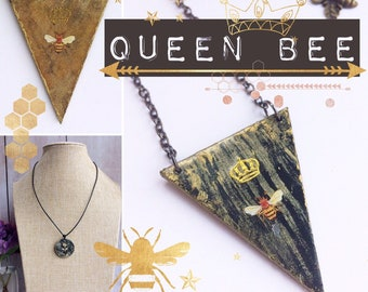 Queen Bee Statement Necklaces - Choice of Designs