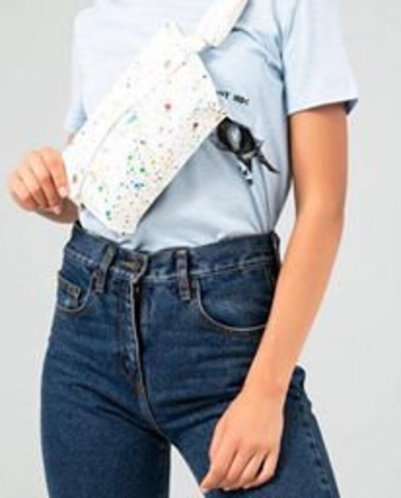 d8b580ccf Leather waist bag women's fanny pack leather belt bag | Etsy