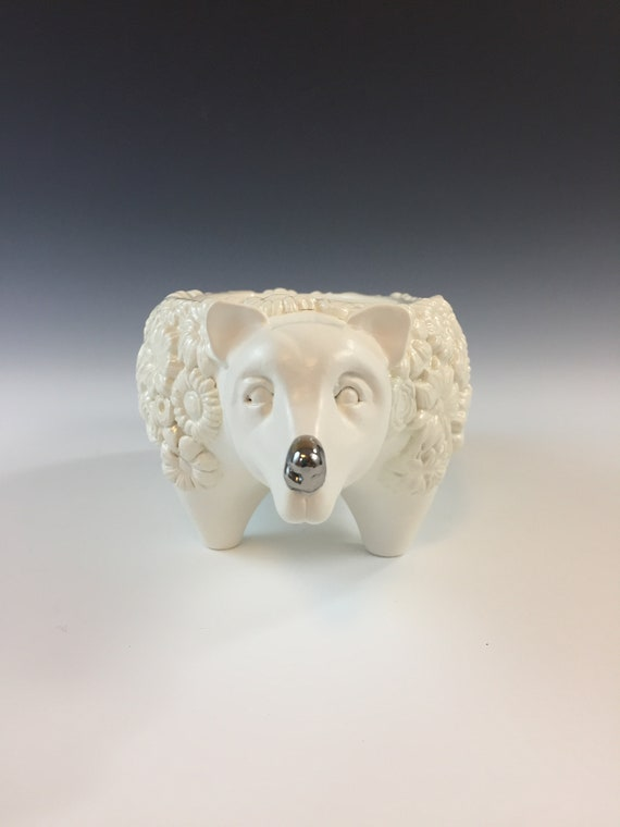Ceramic Bear Planter