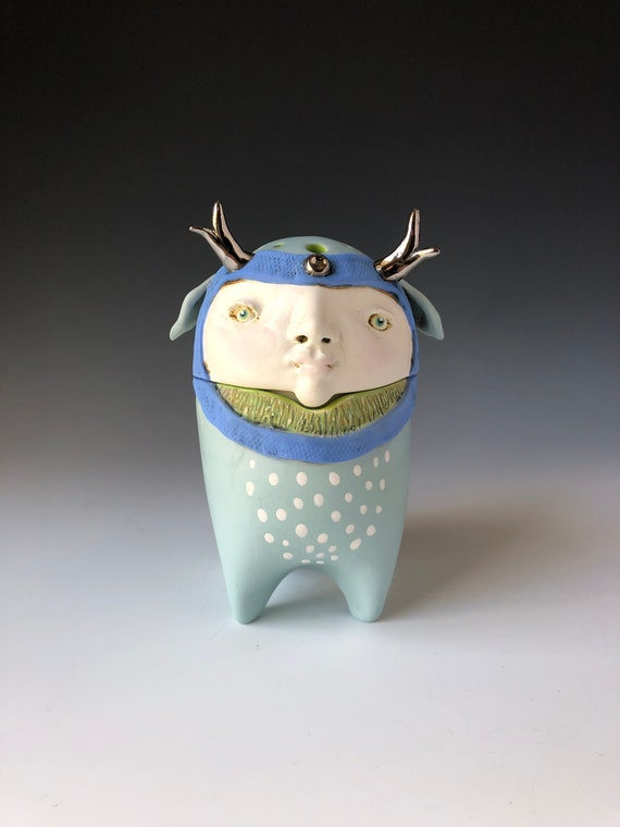 Little Forest Creature Incense Jar