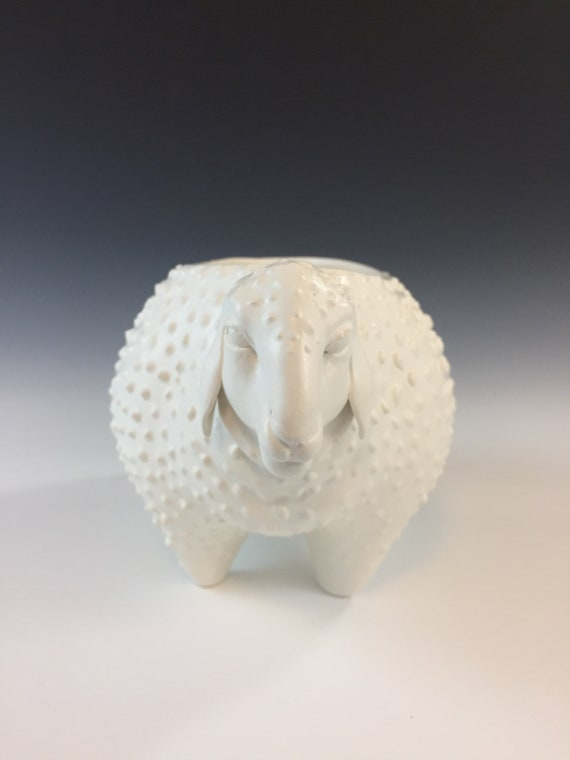 Ceramic Sheep Planter