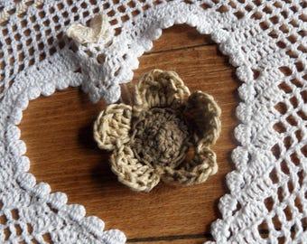 Rideau dentelle gros coeur au crochet fait main | Etsy