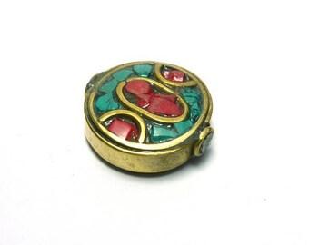 Ethnic nepal PE510 round bead