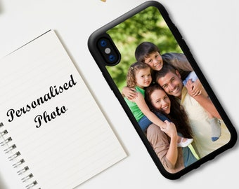 Custom Personalised Photo Shockproof Bumper Case for Apple iPhone 13 12 11 Pro Max Mini & Samsung Galaxy S21 S20 S10 Plus NOTE 10 20 Ultra