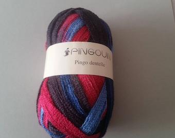 Wool 100% Acrylic - PINGO lace - Bubble Gum - 14-15 needles