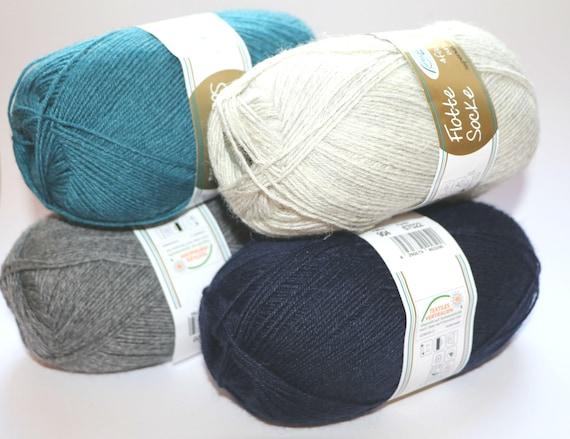 4pl 75/% wool Rellana Garne cotton yarnRellana Garne wool yarn Flotte Socke Toscana