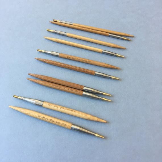 Hiyahiya Sharp Intercambiable De Acero Aguja De Tejer Consejos-todos los tamaños y longitudes