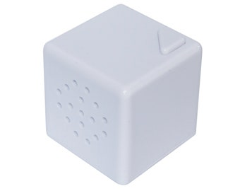 Talking Products, Talking Cube Mini Voice Recorder for Crafts and Hobbies. 20 Seconds Recording Time. Cake Topper