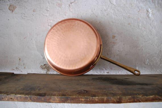Sala Da Pranzo Shabby Chic : Articoli cucina sala da pranzo shabby chic padella di rame etsy