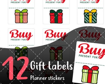 MojiMoi-kawaii Christmas stickers for life planner,Erin Condren Stickers,Planner Stickers,kikki  stickers,plum stickers,filofax stickers 001