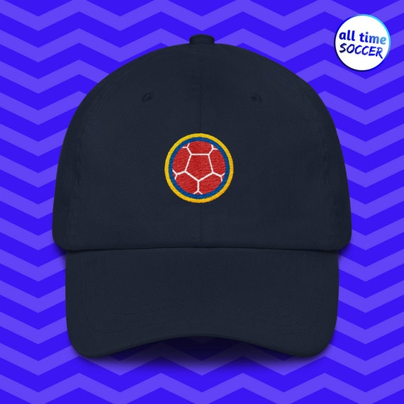 c4d8460f34e115 World Cup Hats Colombia Hats Soccer Gear Soccer Hats | Etsy