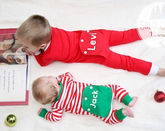 popular items for baby christmas pajamas