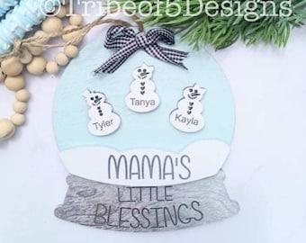 Personalized Christmas Ornaments svg | Grandkids Personalized Ornament | Grandparents Ornaments | Personalized Grandkids svg | Grandkids svg