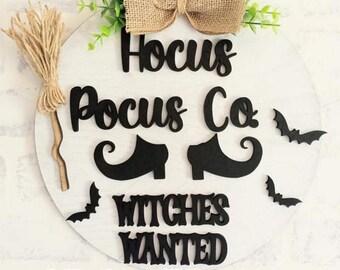 Witches Wanted Door Hang svg | Halloween Door Hang svg | Door Hang svg | Witches Sign svg | Halloween Door Signs | Witches Door Sign svg |