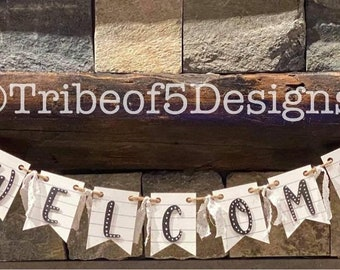 Welcome Classroom Banner svg   Classroom Welcome Sign svg   Classroom Decor svg   Teacher Classroom Signs svg   Welcome School Banner svg  
