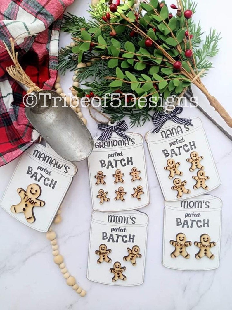 Personalized Christmas Ornaments svg  Grandma Personalized image 1