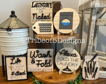 Laundry Room Signs svg   Laundry Shelf Sitter svgs   Laundry Tiered Tray svgs   Tiered Try svgs   Tier Tray svgs   Laundry Room Tier Tray  