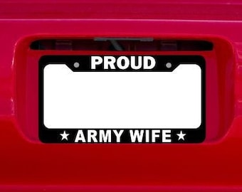 I/'M PROUD TO BE HUNGARIAN HUNGARY License Plate Frame Tag Holder