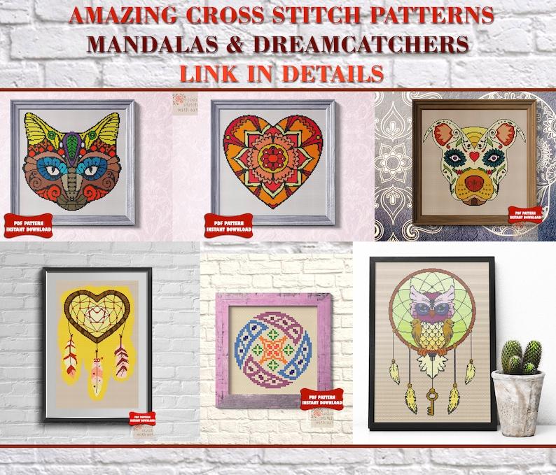 Unicorn cross stitch pattern Modern nursery embroidery hoop art Rainbow Sampler Baby room decor Gift for girl Counted Cross stitch pdf