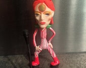 Small sculpture of David Bowie