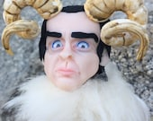 "Photo A4 ""Nick Cave is a ram"""