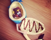 Full of chocolate Easter egg Mermaid