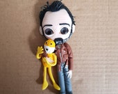 Figure Jean Dujardin - Mr Oizo