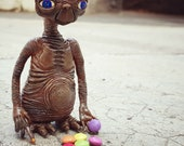 "Photo 21x21cm ""E.T. smarties eater"""