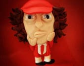 "UNIQUE hand made ""Angus Young"" figurine"