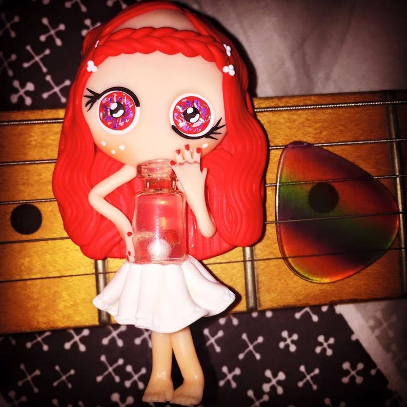 Miss Bottle Neck slide on his Stratocaster image 0